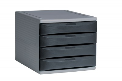 4 Draw Desktop Unit (Grey Graphite) 01
