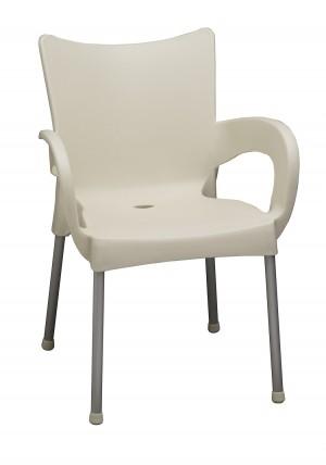 Cafe Arm Chair grey