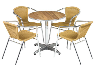 Canteen-wooden-round-rattan-chairs