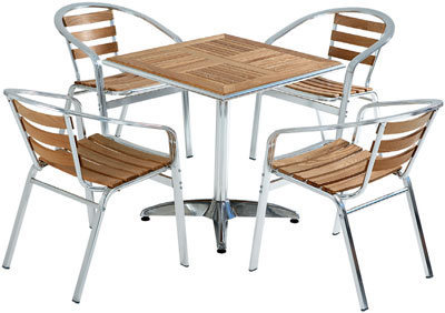 Canteen Wooden Table And Chairs