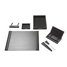 thumbLEATHER Desk Set